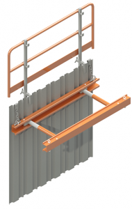 Waler Frame System supporting trench wall illustration