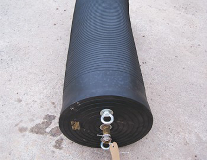 Blank Inflatable Stoppers Stop The Flow In Sewer Pipes