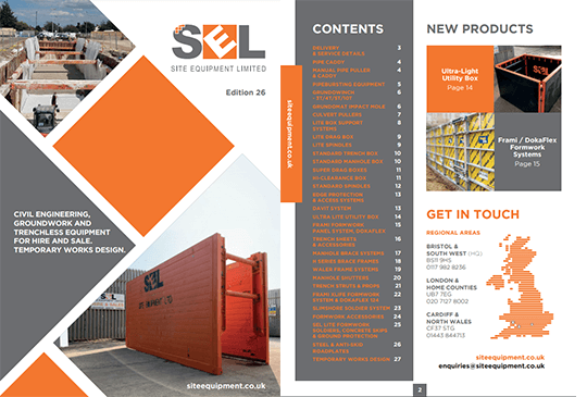 Site Equipment Brochure Preview