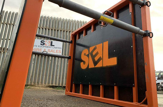 SEL Cardiff image - trench box on site