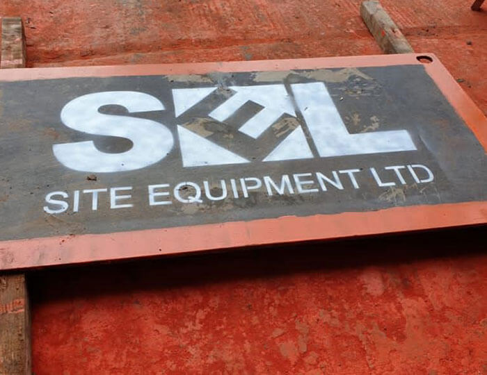 Site Equipment Road Plate